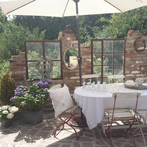 Bildergebnis für steinmauer garten sichtschutz Garten - steinmauer garten mediterran