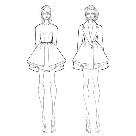 Fashion Drawing Model Behance 31 Ideas For 2019