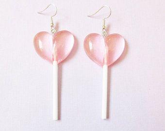 aesthetic earrings Retro earrings record earrings