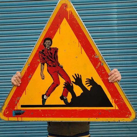 Lucky Metal Novelty Street Sign