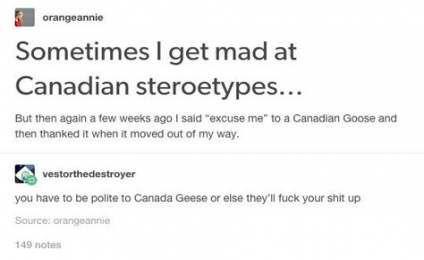 Funny Tumblr Posts Canada Language 33 Ideas Canada Funny Canadian Stereotypes Funny Tumblr Posts