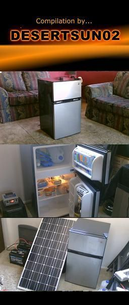 Solar Power A Refrigerator Freezer Average Power Use 30 Watts 740 Watts A Day Can Be Run On A Single Solar Solar Panels Solar Power Solar Panels For Home
