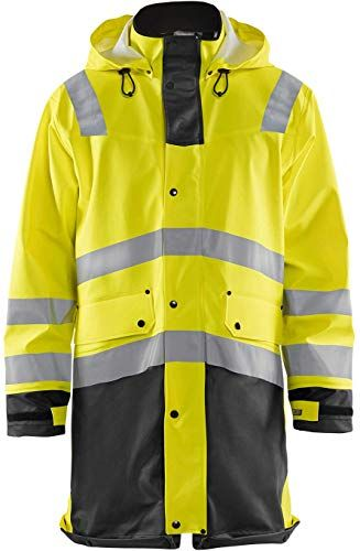 Best Seller Blaklader Hi Vis Waterproof Rain Jacket 4306 Mens Online Waterproof Jacket Men Waterproof Rain Jacket Mens Lightweight Jacket