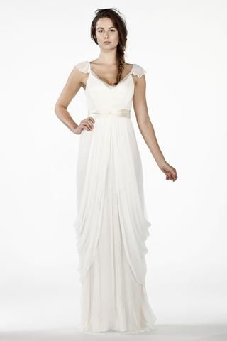 Saja Wedding Modern Wedding Collection Alternative Bridal Collection In 2020 Grecian Wedding Wedding Dress Long Sleeve Casual Wedding Attire
