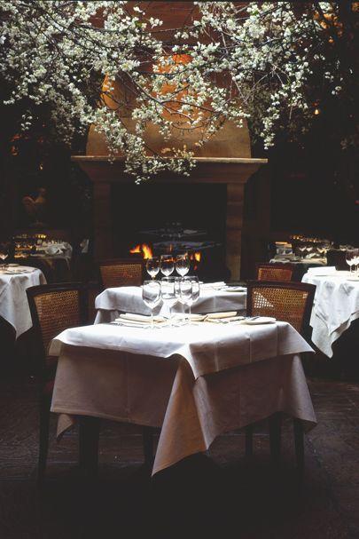 Vogue S Best Romantic Restaurants In London Restaurant Design