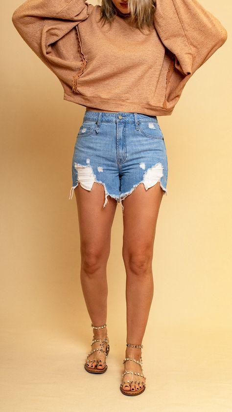 Denim Shorts by Emmer
