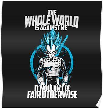 Vegeta Ssj Blue Poster Dragon Ball Dragon Ball Z Dragon
