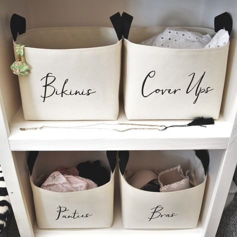 Custom Closet Organizer Basket