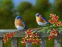 14 Amazing Blue Colored Birds In The World Colorful Bird Oil Painting Flowers Bird