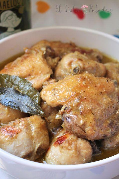 Pollo Guisado Muy Fácil El Dulce Paladar Pollo Guisado Receta Pollo Guisado Recetas Para Cocinar Pollo