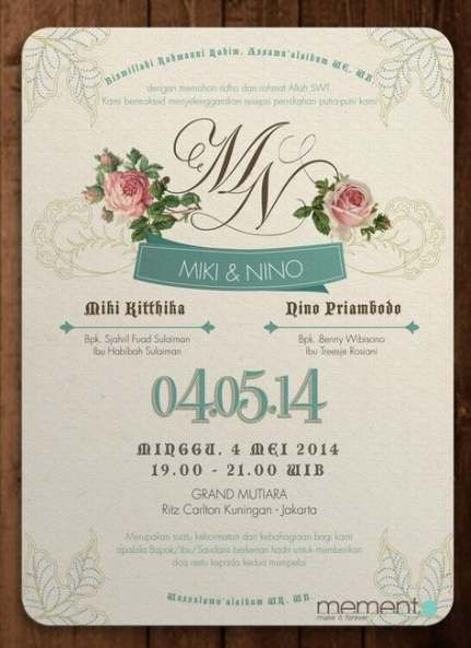 22 Ideas Wedding Invitations Floral Modern Wedding Wedding