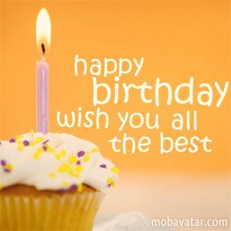 Mobavatar Congratulation Happy Birthday Wish You All The Best Happy Birthday Wish You All The Best In