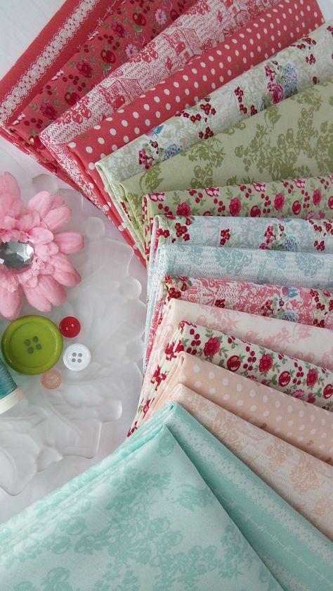 LECIEN Plain Solids Colours ~  Japanese 100/% Cotton Fabric Per Long Quarters