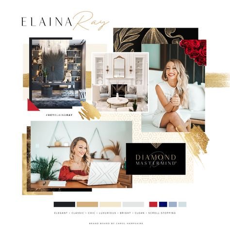 Elaina Ray Brand Vision Board