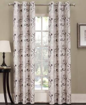 Floral Grommet Sliding Door Curtains Google Search Drapes Curtains Panel Curtains Grommet Top Curtains