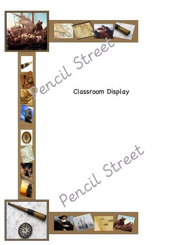 General Resource 802 001 Christopher Columbus Themed Classroom Display Border Great For Columbus Day Classroom Displays Free Classroom Exploring Adventure