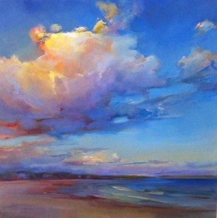 Painting Abstract Sunset 22 Ideas Painting Sunset Painting Landscape Paintings Sky Painting