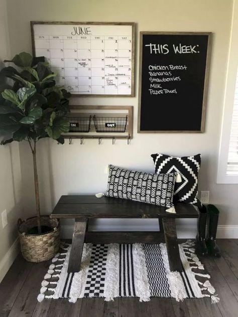 Beautiful Farmhouse TV Stand Design Ideas And Decor #livingroomideas #livingroomdesign #farmhouselivingroom » aesthetecurator.com