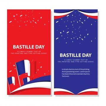 Happy Bastille Day Celebration Poster Vector Template Design Illustration Happy Icons Template Icons Celebration Icons Png And Vector With Transparent Backgr Print Design Template Happy Bastille Day Graphic Design Templates