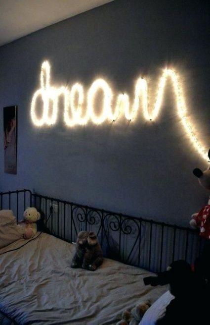 Bedroom Wall Decor Diy Tumblr Fairy Lights 70 Ideas In 2020