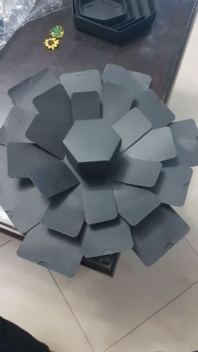 Make it Mine's Customizable Hexagon Explosion Gift Box – MakeitMineCo
