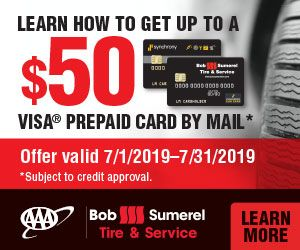 Aaa Bob Sumerel Learn How To Get Up To A 50 Visa Prepaid Card By Mail Offer Valid 7 1 2019 7 31 2019 Learn More Prepaid Card How To Get Learning
