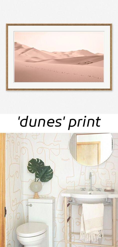 'dunes' print