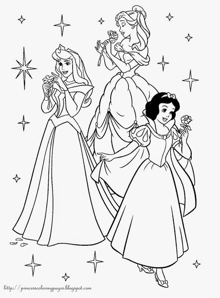 Disney Characters Coloring Pages - GetColoringPages.com | 600x443