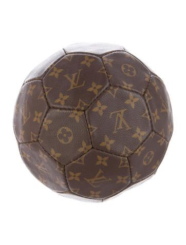 Louis Vuitton 1998 World Cup Limited Edition Soccer Ball Decor Soccer Ball Authentic Decor