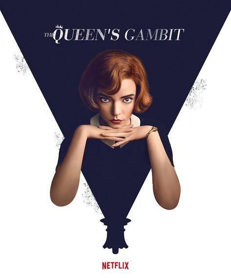 Beth harmon The Queen's Gambit netflix poster 2020