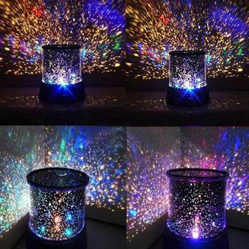 Amazing Laser Projector Lamp Sky Star Cosmos Night Light Home