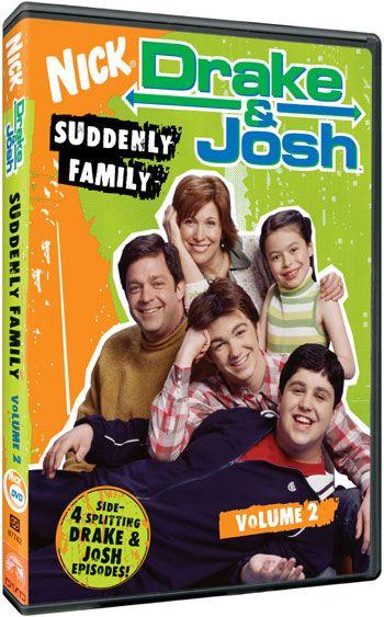 Drake Josh Dvd News Volume 2 Coming Soon Drake Josh Drake And Josh Friday Humor