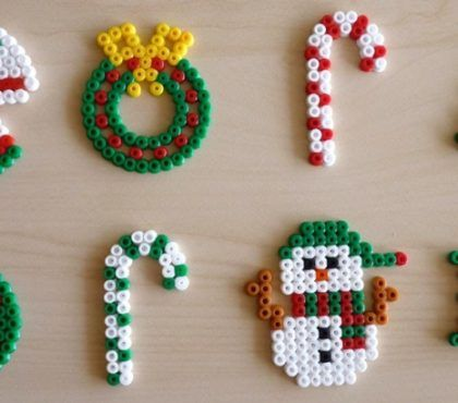 Bugelperlen Vorlagen Zu Weihnachten Kostenlos 12 Bastelideen 6