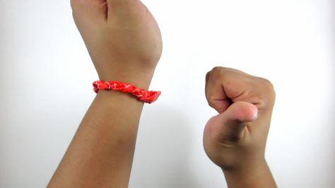 Make A Braided Duct Tape Bracelet Bracelets