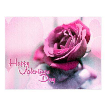 Happy Valentine\'s Day Postcard - valentines day gifts gift idea ...