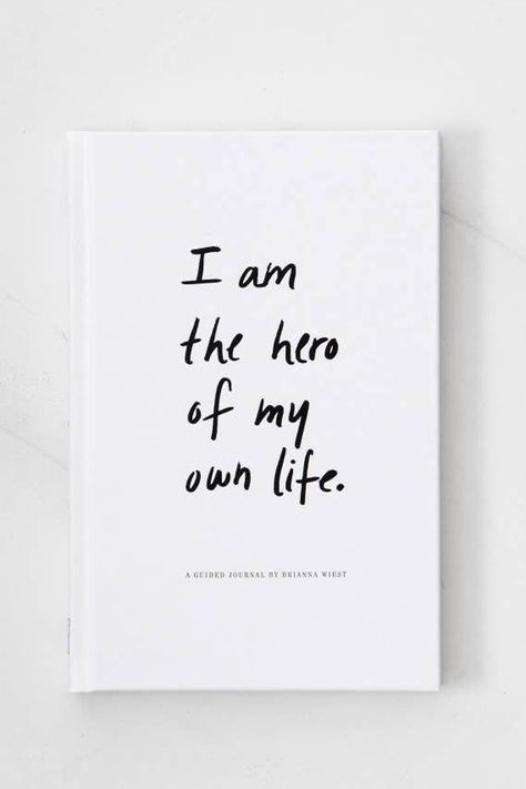 I Am The Hero Of My Own Life Guided Journal