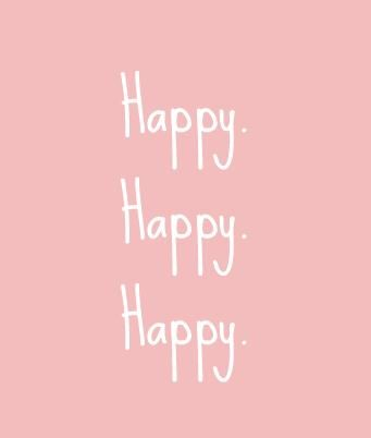 I am happy, trust me. Everything is ok with me :). :P