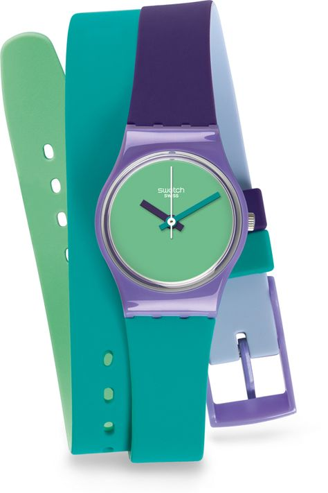 Swiss made, the Swatch watch FUN IN BLUE features a quartz movement, a silicone strap and a plastic watch head. Discover more Originals Lady on the Swatch Canada website.