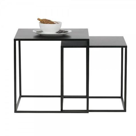 Beistelltisch Zita 2er Set Couchtisch Metall Beistelltisch Design Beistelltisch