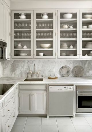 Love The Little Pops Of Green In With The Clean White Dishes | For The Home  | Pinterest | White Dishes, Dishes And Kitchens