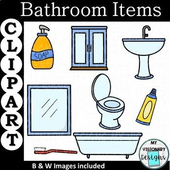 Bathroom Items Clipart Clip Art Sink Soap Dispenser Bathroom