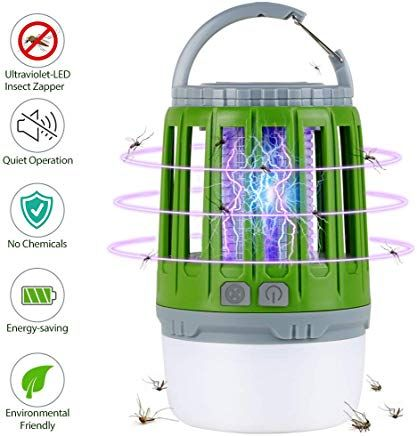 Homecube Insektenvernichteruv Insektenvernichter Led Campinglampe 2 In 1 Elektrisch Mackenfalle Rechargeble Usb Kleine Chemical Energy Save Energy Water Bottle