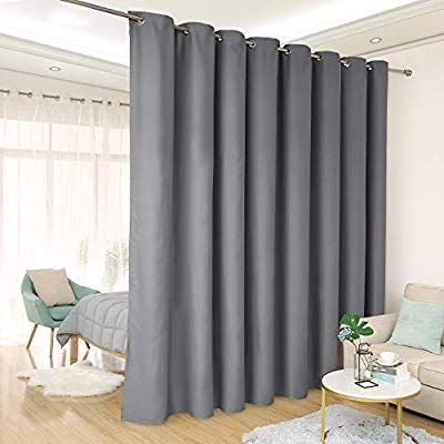 Amazon Com Deconovo Room Divider Curtain Thermal Insulated