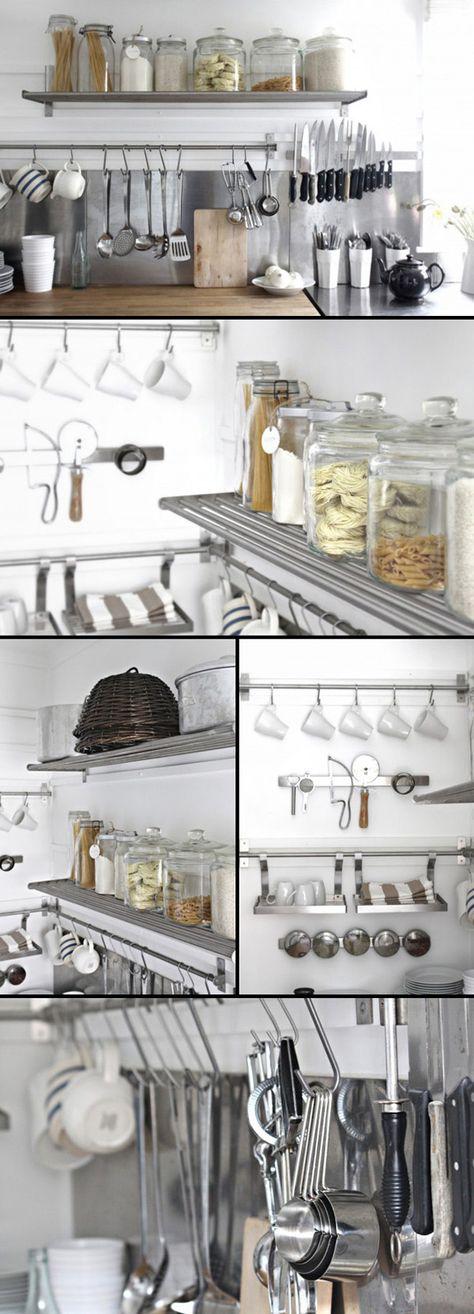 Beach Cottage Kitchen Organization Part I