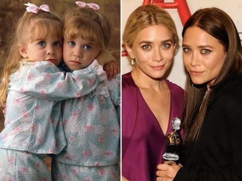 Mary Kate And Ashley Olsen Famous People Full House Twins Full