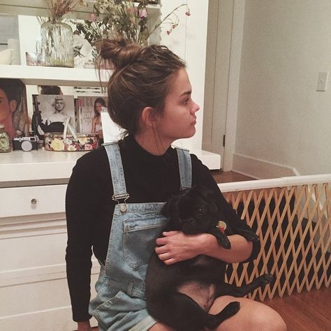 Maia's messy bun is so cute! | The Fosters