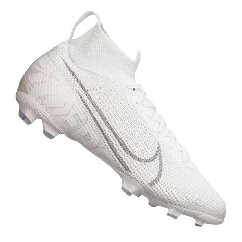 Nike Superfly 7 Elite Fg Jr AT8034 100 football shoes white