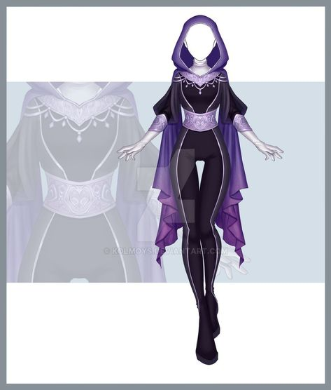 [Close] Adoptable Outfit Auction 251 by Kolmoys on DeviantArt Drawing Anime Clothes, Dress Drawing, Manga Clothes, Clothing Sketches, Dress Sketches, Character Costumes, Character Outfits, Fashion Design Drawings, Fashion Sketches