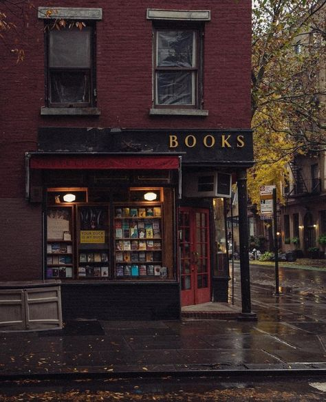 three lives and co bookstore, greenwich village, ny-- three lives and co bookstore, greenwich village, ny Cozy Aesthetic, Autumn Aesthetic, Aesthetic Outfit, Aesthetic Collage, Aesthetic Vintage, Quote Aesthetic, Aesthetic Clothes, Cozy Rainy Day, Rainy Days