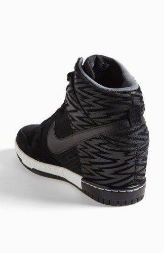 zapatos nike con cuña